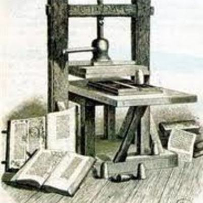 HISTORIA DE LA TIPOGRAFÍA timeline