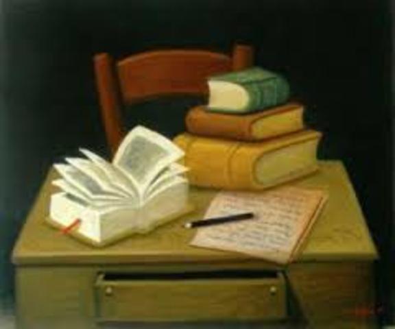 Descubro una pasión por la lectura y escritura