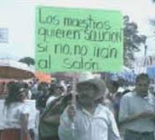 Conflicto magisterial de Oaxaca