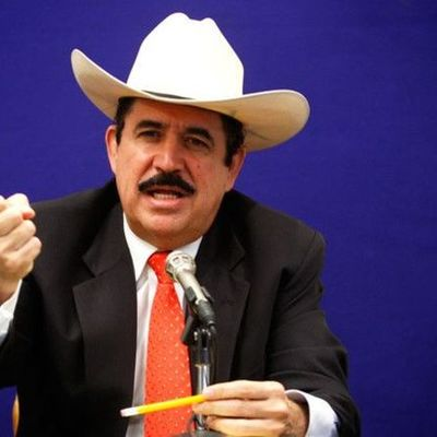 Ex-presidentes de Honduras timeline