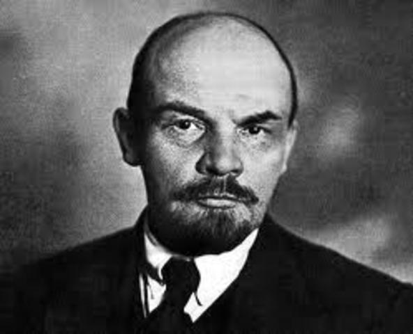 Lenins Bolshevik Revolution in Russia