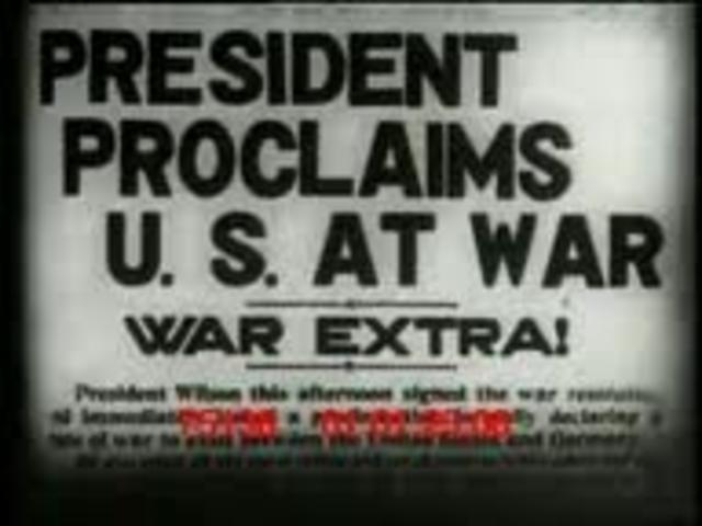 U.S. Joins WW1