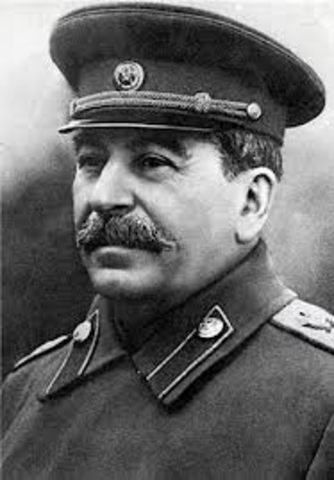 Stalins rule in the USSR Begins