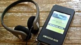 les inventions liées à l'évolutions des parcours touristiques audio guidés timeline