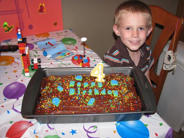 I turned four.