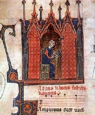 Adam de halle (1237-1288)