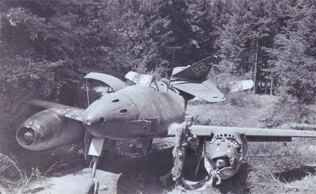 Meserschmitt Me 262 is Lost