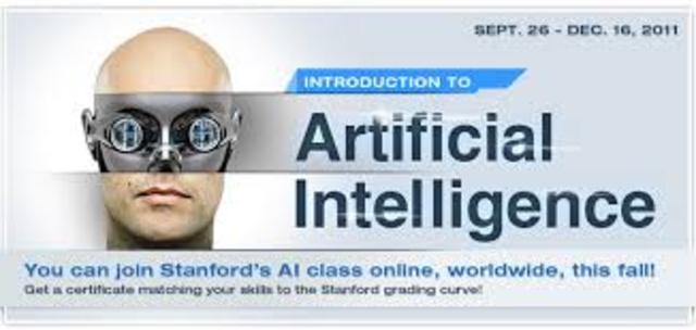 """Στο Stanford University οι Sebastian Thrun και Peter Norvig έκαναν το μάθημα """"Τεχνητή Νοημοσύνη"""""""