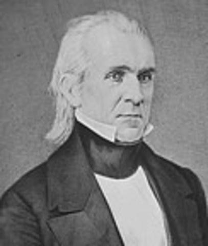 Democrats: James K. Polk