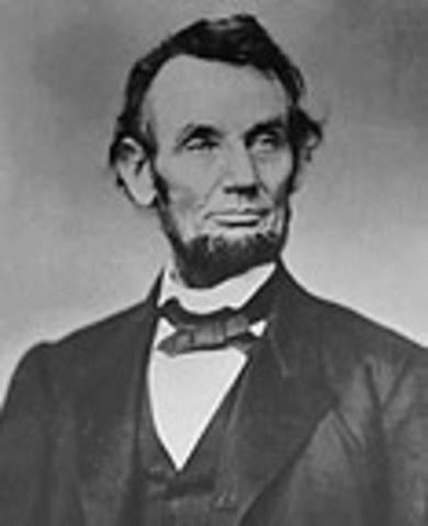 Republicans: Abraham Lincoln