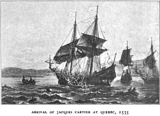 Jacques cartier boat coloring pages ~ Canadian timeline | Timetoast timelines