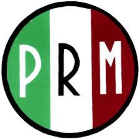 Creación del PRM