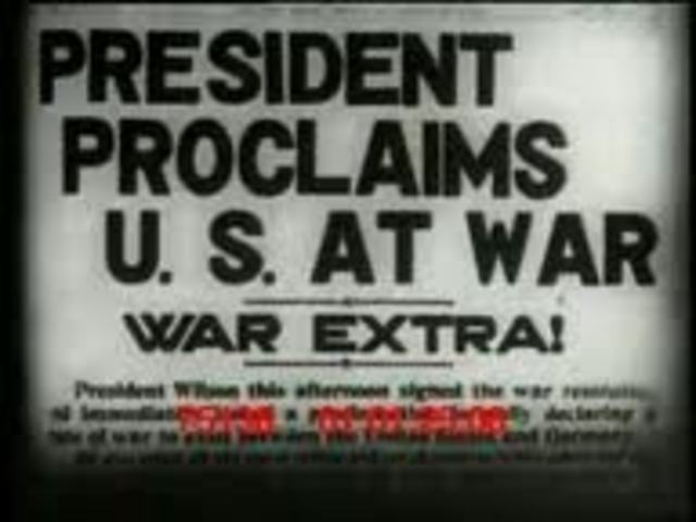 U,S. Joins WWI