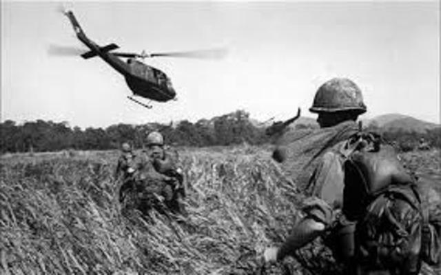 Vietnam War is fought