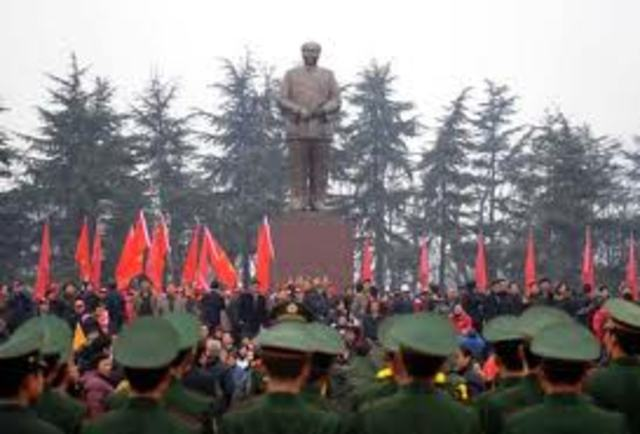 Mao Zedong's people's Republic of China