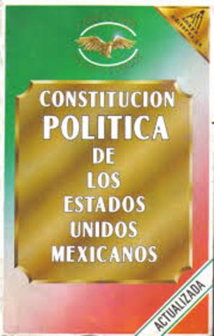 Promulgación de la Constitución Política de los Estados Unidos Mexicanos