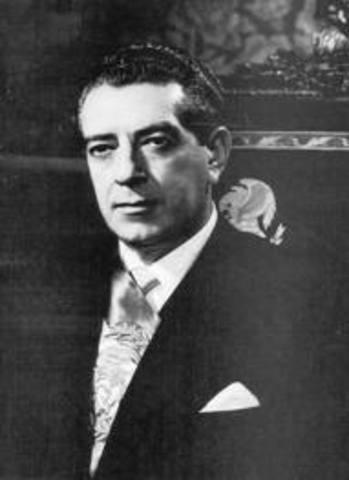 Cambio de gobierno de Adolfo Ruiz Cortines a Adolfo López Mateos