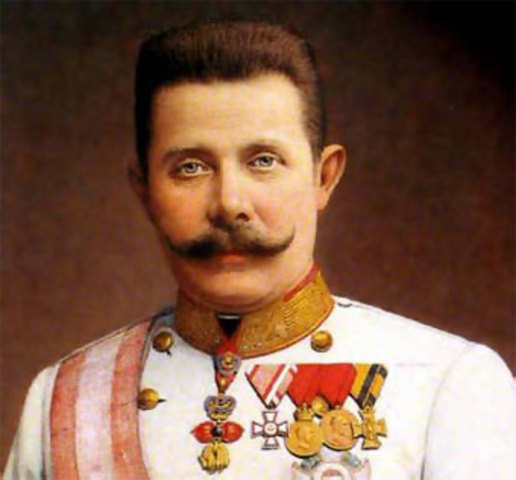 Asesinato del príncipe austriaco Francisco Fernando.