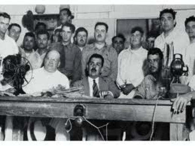 Inicio de la dictadura perfecta PRM