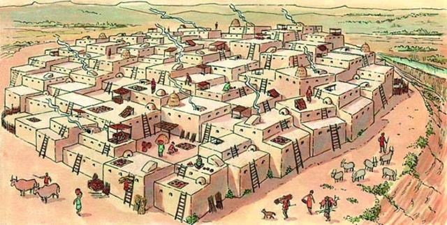 4000 a.C. Las primeras ciudades