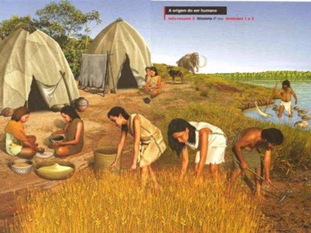 10 000 a.C - 5000 a.C. Primeras comunidades agrícolas