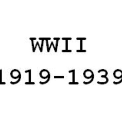 A Timeline of the Causes of WW2