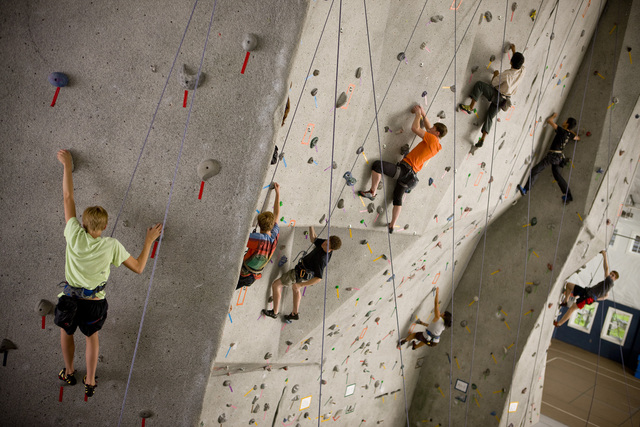 Fitness Center and Climbing Wall Open