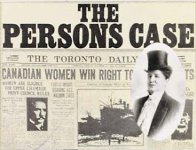 The Persons Case