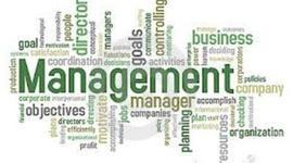 Amanda's History of Management timeline