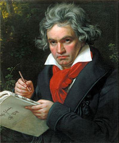Ludwig van Beethoven (baptised 17 December 1770 – 26 March 1827)