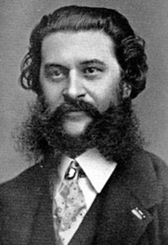 Johann Strauss, Jr. (October 25, 1825 – June 3, 1899)