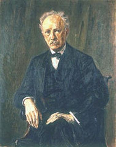 Richard Strauss (11 June 1864 – 8 September 1949)