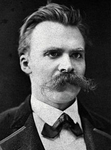 Friedrich Nietzsche (15 October 1844 – 25 August 1900)