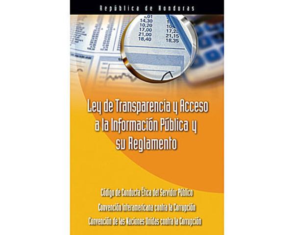 Las leyes que todo hondure o debe conocer timeline for Oficina de transparencia y acceso ala informacion