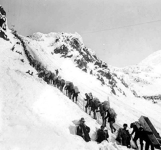 Gold Discovered in the Klondike