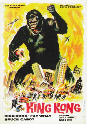 Banda sonora de la película King Kong por Max Steiner