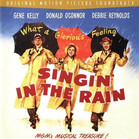 Años 50 Cantando bajo la lluvia