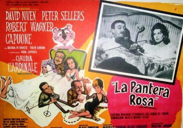 Años 60 La pantera rosa - Henry Mancini