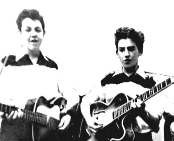 Paul y George se conocieron por primera vez