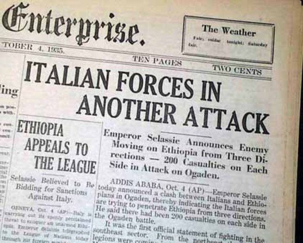 Ethiopia Invaded