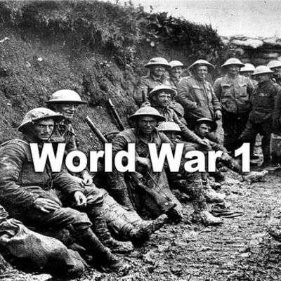 Charlie's World War 1 Timeline