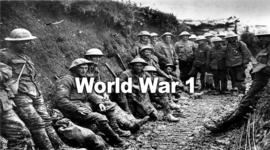 Charlie's World War 1 Timeline