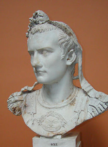 Caligula- 37AD to 41AD