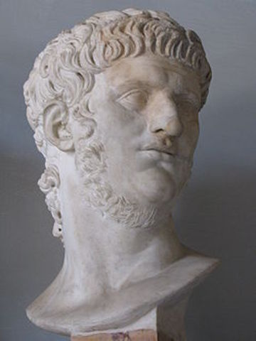 Nero - 54 A.D. to 68 A.D.