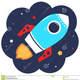 Carton rocket