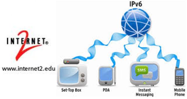 La red de BackboneInternet 2 implanta IPv6. Las empresas másimportantes se lanzan a la convergencia entre video, voz y datos
