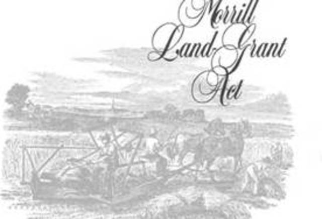 Morrill Land Grant Act of 1862