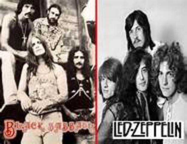 HEAVY METAL  Y THRASH METAL  los 70´s