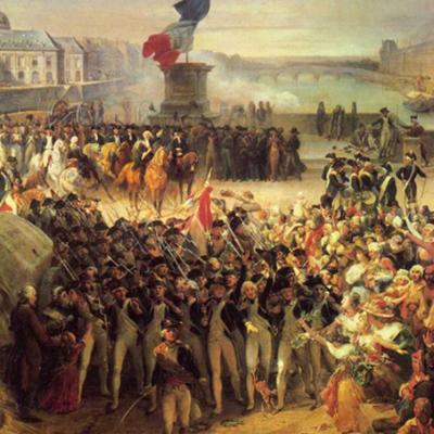 Revolução Francesa por Julia Barros e Victória Monjardim timeline