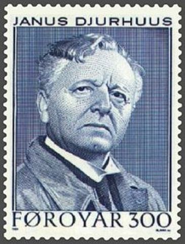 """Faroese poem by Janus Djurhuus, """"Gandkvæði Tróndar""""."""